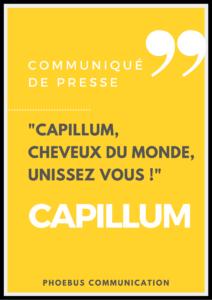 Communiqué de presse Phoebus Capillum